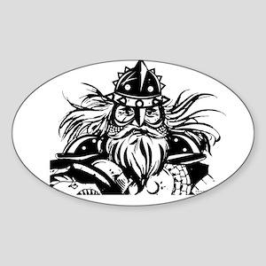 Viking Sticker (Oval)