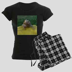 Beardie Women's Dark Pajamas