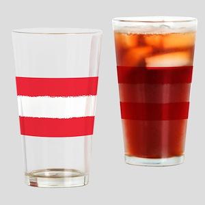 Austria in 8 bit Drinking Glass