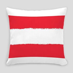 Austria in 8 bit Everyday Pillow