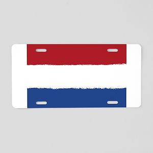 8 bit flag of Aluminum License Plate