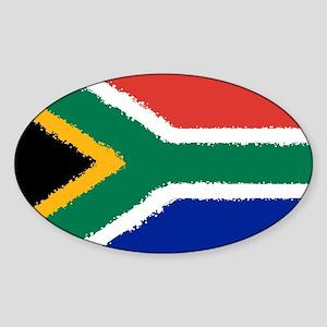 8 bit flag of South Africa Sticker