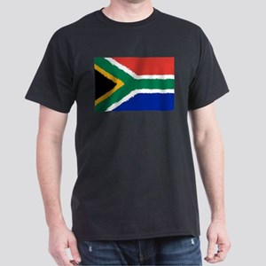 8 bit flag of South Africa T-Shirt