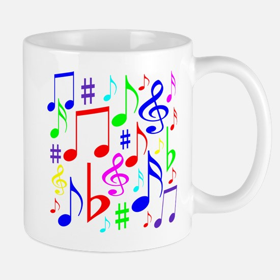 Note Rainbow Mugs