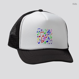 Note Rainbow Kids Trucker hat