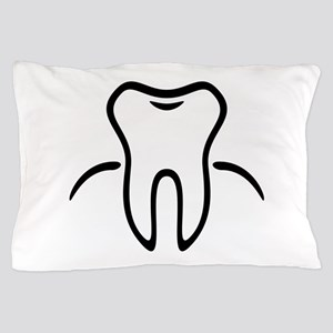 Tooth With Gingiva / Zahn / Dent / Die Pillow Case