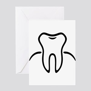 Tooth With Gingiva / Zahn / Dent / Greeting Cards