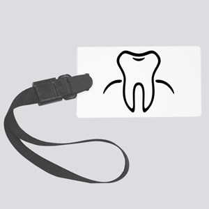 Tooth With Gingiva / Zahn / Dent Large Luggage Tag