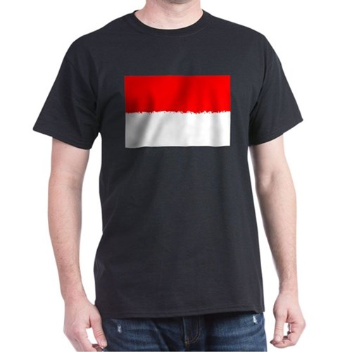 8 bit flag of Indonesia T-Shirt