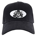 Viking Warrior Black Cap with Patch