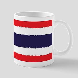 8 bit flag of Thailand Mugs