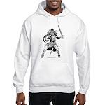 Viking Warrior Hooded Sweatshirt