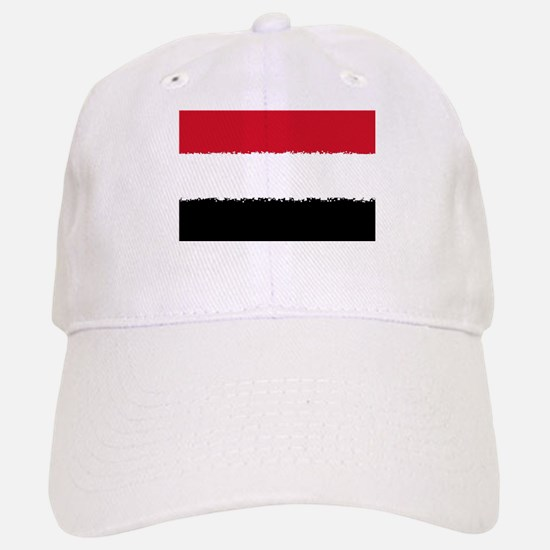 8 bit flag of Baseball Baseball Cap