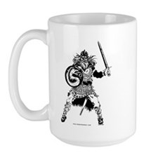 Viking Warrior Large Mug