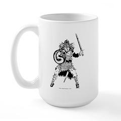 Viking Warrior Large Mug