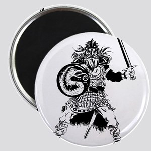 Viking Warrior Magnet
