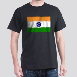 8 bit flag of India T-Shirt
