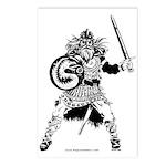 Viking Warrior Postcards (Package of 8)