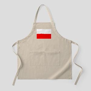 8 bit flag of Poland Apron