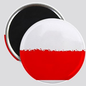 8 bit flag of Poland Magnets