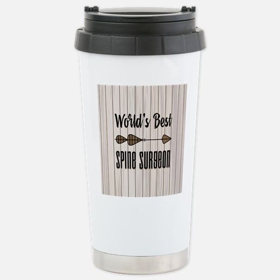 Gift for Spine Surgeon Stainless Steel Travel Mug