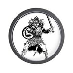 Viking Warrior Wall Clock