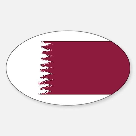 8 bit flag of Qatar Decal