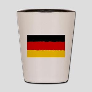 Germany in 8 bit Shot Glass