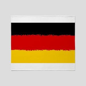 Germany in 8 bit Throw Blanket