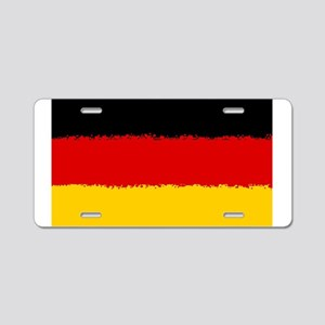 Germany in 8 bit Aluminum License Plate