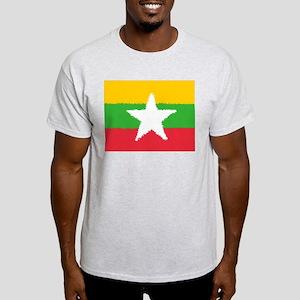 Burma in 8 bit T-Shirt