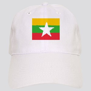 Burma in 8 bit Cap