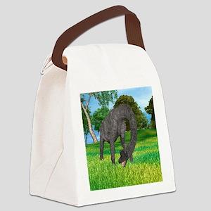 Dinosaur Brachiosaurus Canvas Lunch Bag