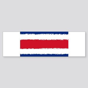 Costa Rica in 8 bit Bumper Sticker