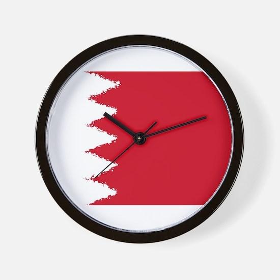 Bahrain in 8 bit Wall Clock