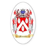 Minyard Sticker (Oval 10 pk)