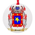 Minucci Round Ornament