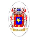 Minucci Sticker (Oval 10 pk)