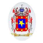 Minucci Oval Ornament