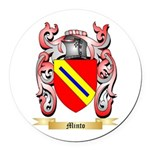 Minto Round Car Magnet
