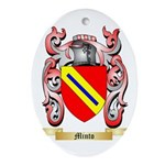 Minto Oval Ornament