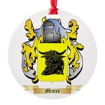 Minter Round Ornament