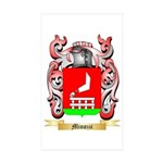 Minozzi Sticker (Rectangle 50 pk)