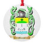Minnot Round Ornament