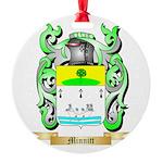 Minnitt Round Ornament