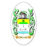 Minnitt Sticker (Oval 50 pk)