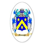 Minnagh Sticker (Oval 50 pk)