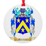 Minihane Round Ornament
