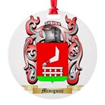 Minigucci Round Ornament
