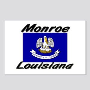 Monroe Louisiana Postcards (Package of 8)
